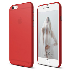 S6 Inner Core Case for iPhone 6/6s - Red