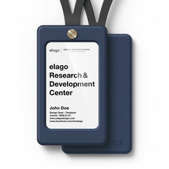 iD Card Holder - Jean Indigo