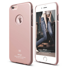 S6+ Slim Fit Case for iPhone 6/6s Plus - Rose Gold
