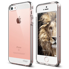 S5 Flex Cushion TPU Case for iPhone 5/5s/SE - Crystal Clear