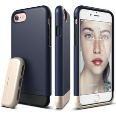 S7 Glide for iPhone 7 - Jean Indigo / Champagne Gold