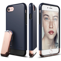 S7 Glide for iPhone 7 - Jean Indigo / Chrome Rose Gold