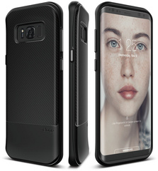 Grip Cushion Case for Galaxy S8 Plus - Black