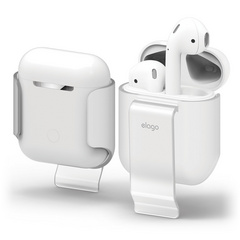 Airpods Carrying Clip - Frosted Transparent