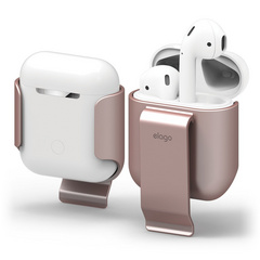 Airpods Carrying Clip - Rose Gold
