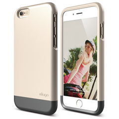 S6 Glide for iPhone 6 - Champagne Gold / Metallic Dark Gray