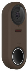 Silicone Case for Nest Hello Doorbell - Dark Brown