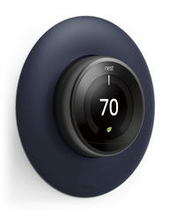 Classical Wall Plate Cover for Nest Learning Thermostat - Jean Indigo