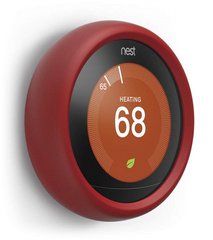Controller Grip for Nest Learning Thermostat - Red