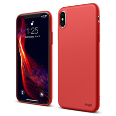 Slim Fit for iPhone Xs - Red