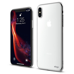 Slim Fit for iPhone Xs - Soft Feeling Clear