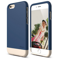 S6 Glide for iPhone 6 - Jean Indigo / Champagne Gold