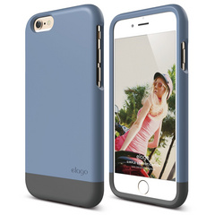 S6 Glide for iPhone 6 - Royal Blue / Dark Gray