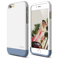 S6 Glide for iPhone 6 - White / Royal Blue