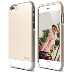 S6 Glide for iPhone 6 - Champagne Gold / White