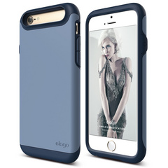 S6 Duro Case for iPhone 6/6s- Jean Indigo / Royal Blue