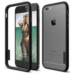 S6 Tag Bumper Case for iPhone 6 - Black