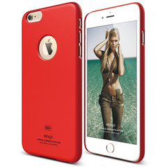 S6+ Slim Fit Case for iPhone 6/6s Plus - Extreme Red