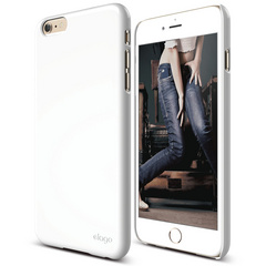 S6+ Slim Fit 2 Case for iPhone 6 Plus ONLY - White