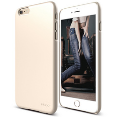 S6+ Slim Fit 2 Case for iPhone 6/6s Plus - Champagne Gold