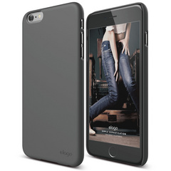 S6+ Slim Fit 2 Case for iPhone 6/6s Plus - Dark Grey