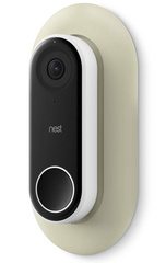 Wall Plate for Nest Hello Doorbell - Classic White