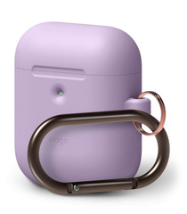 Airpods Silicone Hang Case - Lavanda