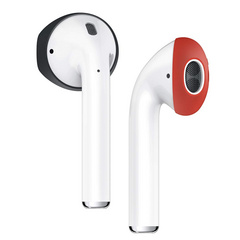 Airpods Secure Fit Cover - Black/Red
