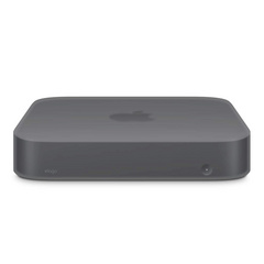 Silicone Case for Mac Mini 2018 - Dark Gray transparent