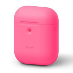 Airpods Silicone Case - Neon Hot Pink