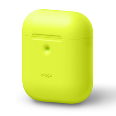 Airpods Silicone Case - Neon Yellow