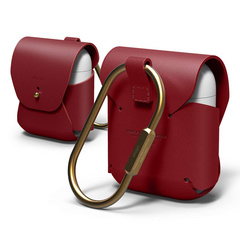 Airpods Leather Case - Red