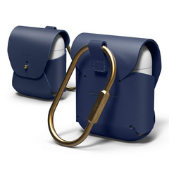 Airpods Leather Case - Jean Indigo
