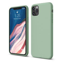 Silicone Case for iPhone 11 PRO - Pastel Green
