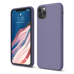 Silicone Case for iPhone 11 PRO - Lavanda Gray