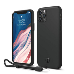 Slim Fit Strap Case for iPhone 11 PRO - Black