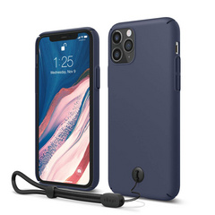 Slim Fit Strap Case for iPhone 11 PRO - Jean Indigo