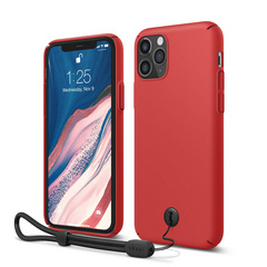 Slim Fit Strap Case for iPhone 11 PRO - Red