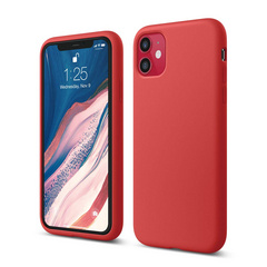 Silicone Case for iPhone 11 - Red