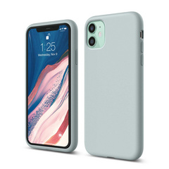 Silicone Case for iPhone 11 - Baby Mint