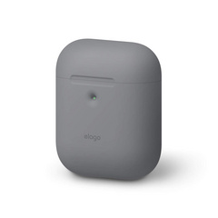 Airpods Silicone Case - Medium Gray