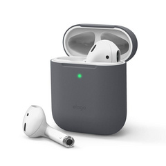 Airpods Skinny Silicone Case - Dark Gray