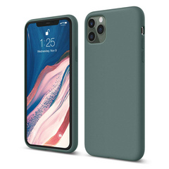 Silicone Case for iPhone 11 PRO - Midnight Green