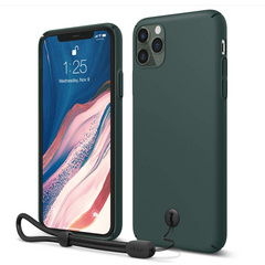 Slim Fit Strap Case for iPhone 11 PRO - Midnight Green