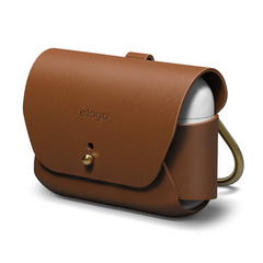 Airpods Pro Leather Case - Brown