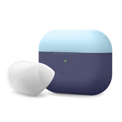 Airpods Pro Duo Silicone Case - Jean/Pastel Blue-Nightglow Blue