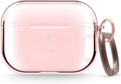 Airpods Pro Clear TPU Case - Lovely Pink