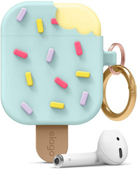 Airpods Icecream Design Case - Mint