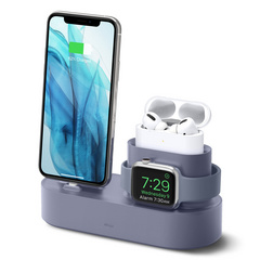 Trio Pro Charging Stand - Lavender Gray
