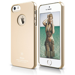 S5 Slim Fit Case for iPhone 5/5s/SE - Soft Champagne Gold